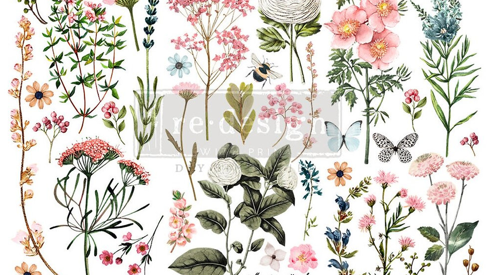 """'Botanical Paradise' Small Transfer 
