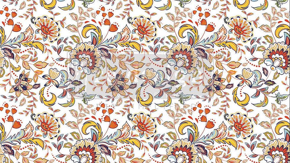 Decor Tissue Paper Tangerine Spring