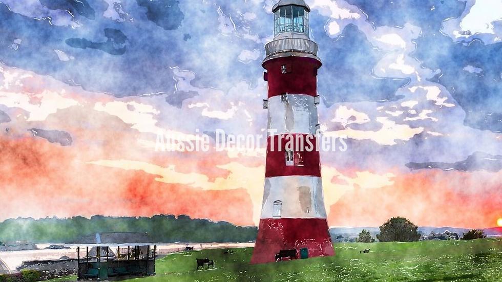 The Lighthouse - Self Adhesive Decoupage - Large 59.4cm x 84cm