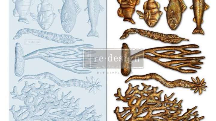 'Coral Reef' Decor Mould - Redesign With Prima
