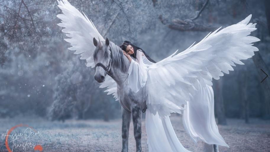 Angel Wings - Luxe Decoupage Paper - 40gsm