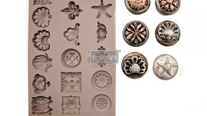 'Seashore Treasure' Decor Mould - Redesign With Prima