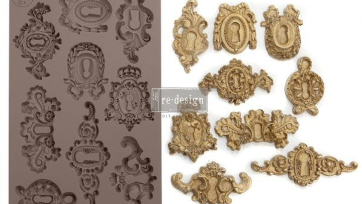 'Grandeur Keyholes' Decor Mould - Redesign With Prima