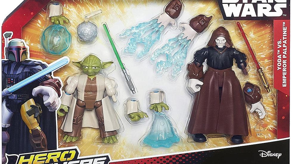Star Wars Hero Mashers Luke Skywalker Vs Darth Vader