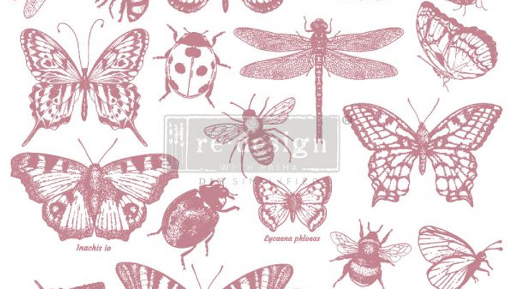 REDESIGN DECOR CLEAR-CLING STAMPS – MONARCH COLLECTION – 12×12