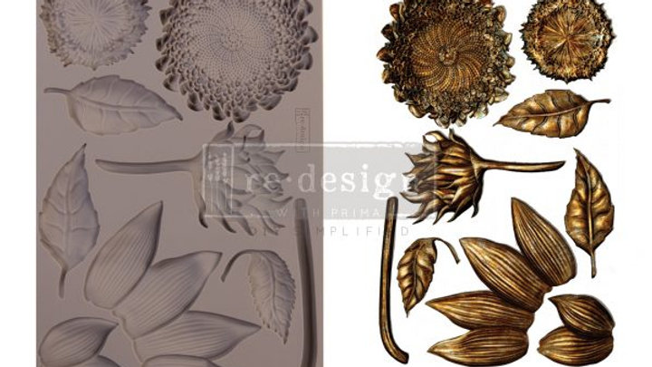 'Forest Treasures' Decor Mould - Redesign With Prima