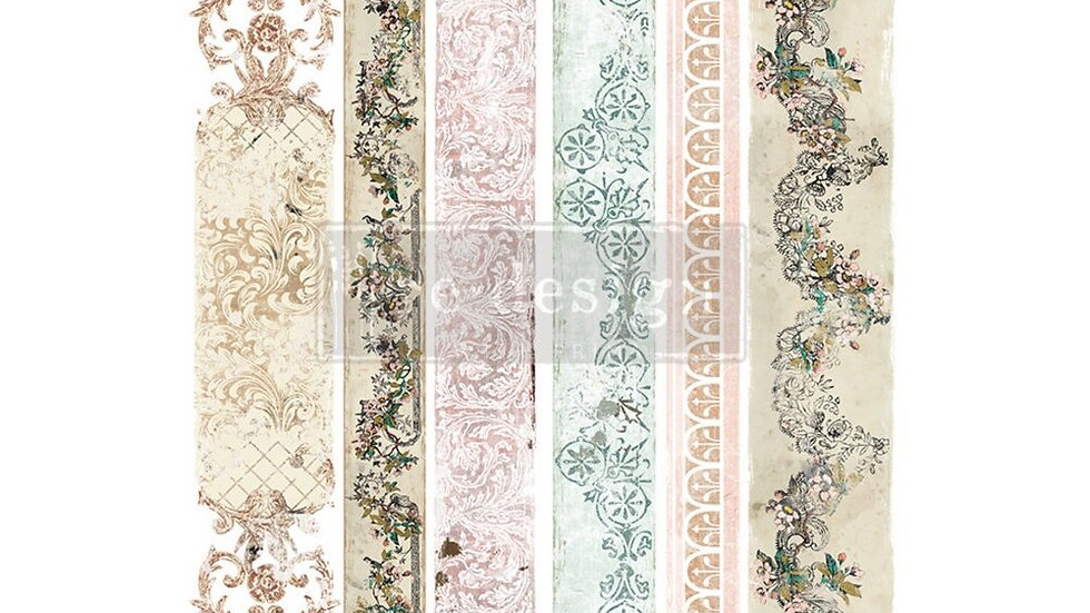 """'Distressed Borders II' Decor Transfer 