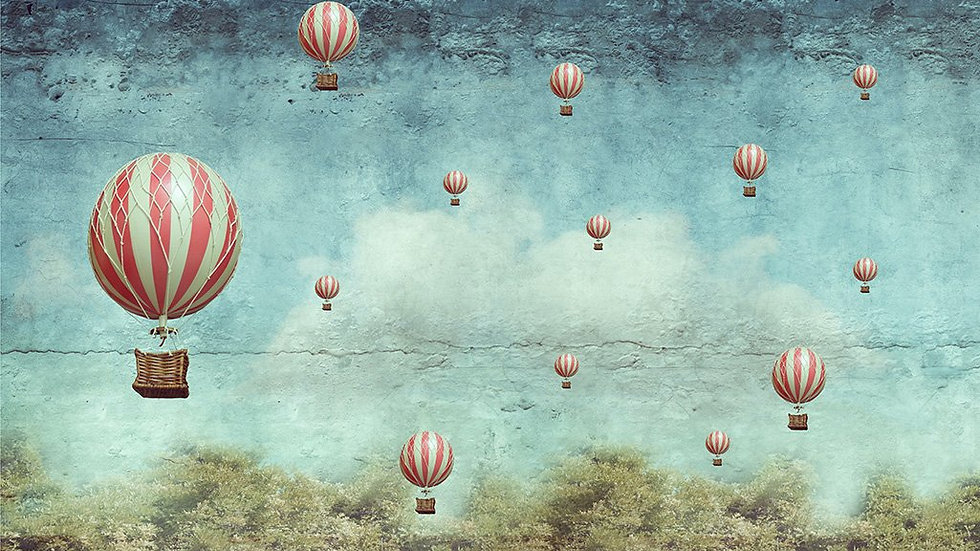 MINT by Michelle Decoupage Paper - Balloons