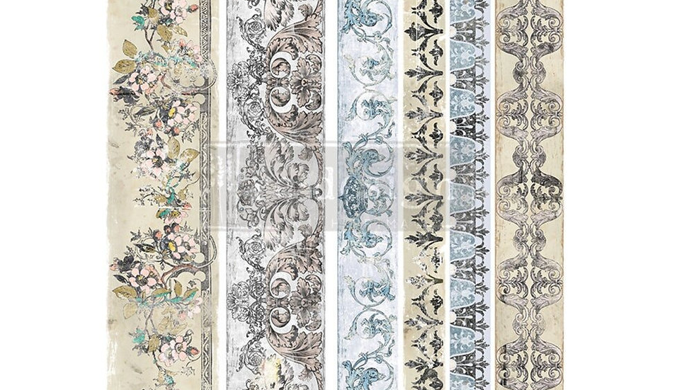 """'Distressed Borders' Decor Transfer   Redesign With Prima   Large 24"""" X 35"""""""