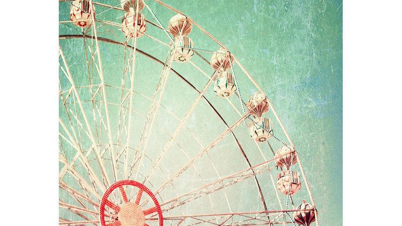 MINT by Michelle Decoupage Paper - Ferris Wheel