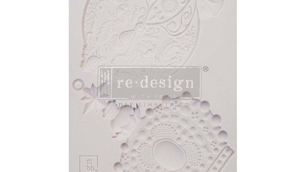BRAND NEW 'Victorian Adornments' Decor Mould - Redesign With Prima