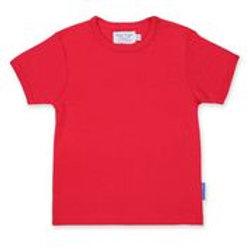 Organic Basic T-shirt - Red