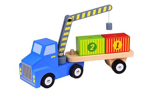 Wooden Lorry Loader