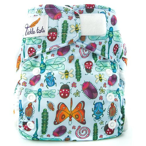 Tickle Tots AIO Cloth Nappy -Bugs