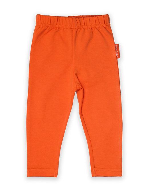 Organic Basic Leggings - Orange