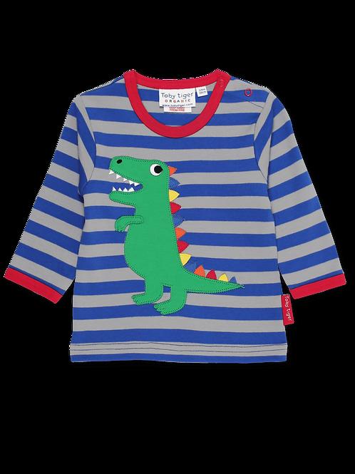 Organic Dinosaur Long Sleeve T-shirt