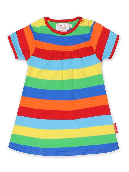 Organic Multi Stripe Dress