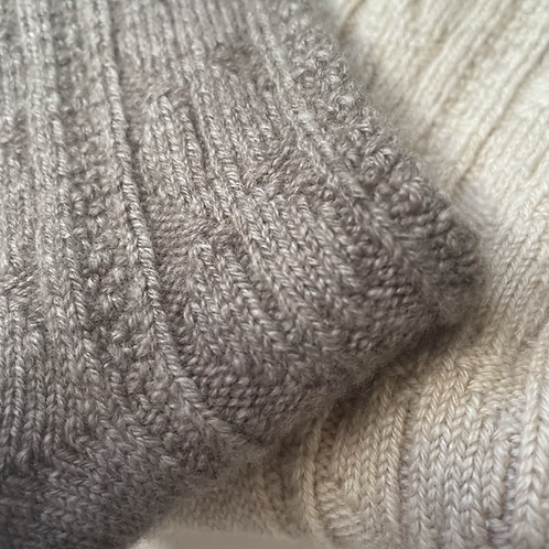 The Cable Lounging Socks