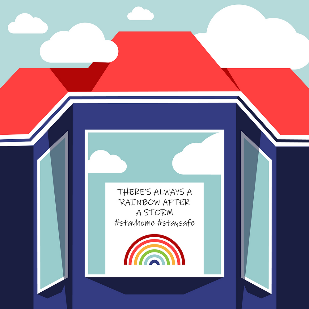 Illustration of hopeful message inspired by San Franciscans