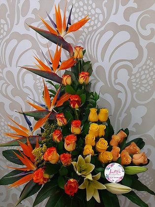 T115- Surtido Rosas y Aves
