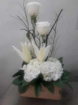 F28- Rosas, Hortensias y Lirios