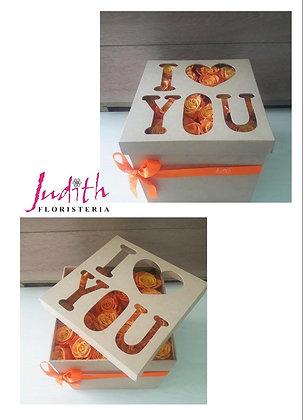 T86- Caja I Love You