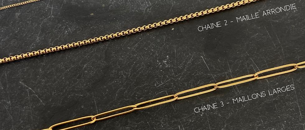 Collier AMULETTE - Chaine pour Charms