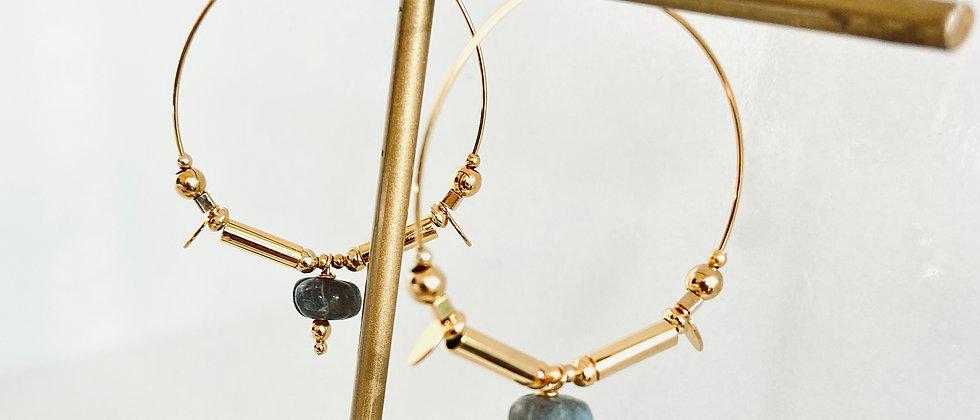 Boucles d'Oreilles Selena - Gold Filled