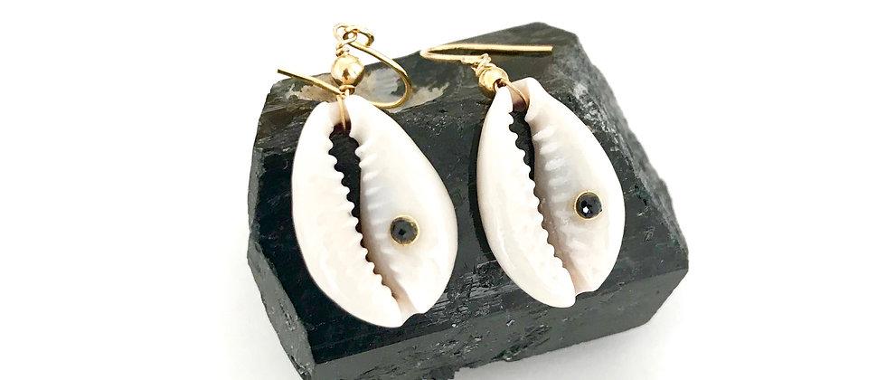 Boucles d'oreilles Waimea en Caurie