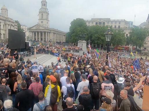 Worldwide Freedom Rally in London 24/07/21