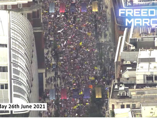 The Most Massive Raving Freedom Protest in London Yet!  26/06/21
