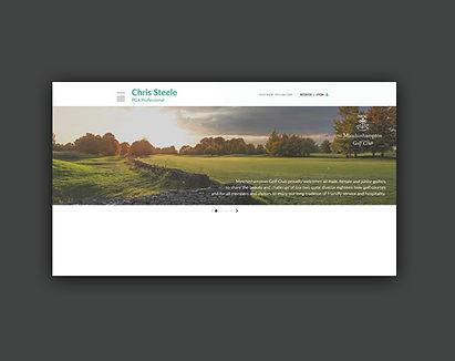 Jodie Bean digital web website header design