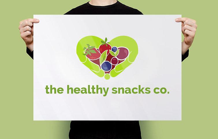 Jodie Bean graphic design logo branding healthy snacks co