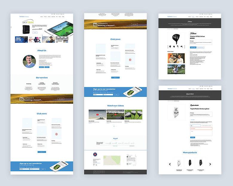 jodie bean digital web UI design