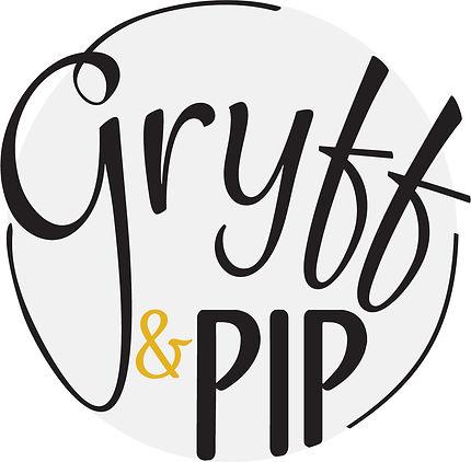 Jodie Bean logo design Gryff & Pip