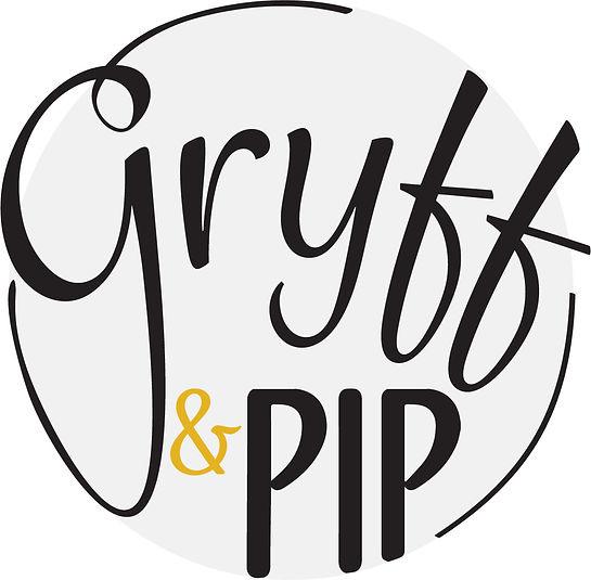 Jodie Bean graphic design logo branding gryff & pip