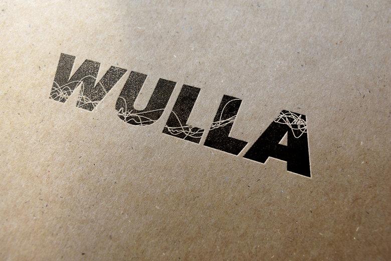 Jodie Bean graphic design logo branding Wulla yarn