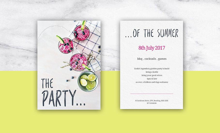Jodie Bean graphic design stationery design