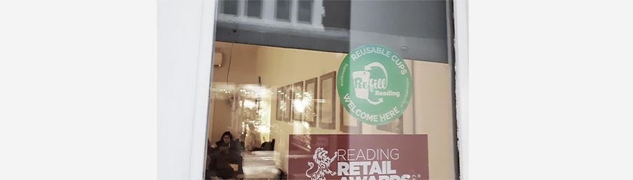 Jodie Bean graphic design logo branding refill reading