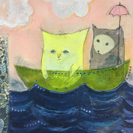 """""""The Owl & the Pusscat, In the Doldrums"""""""
