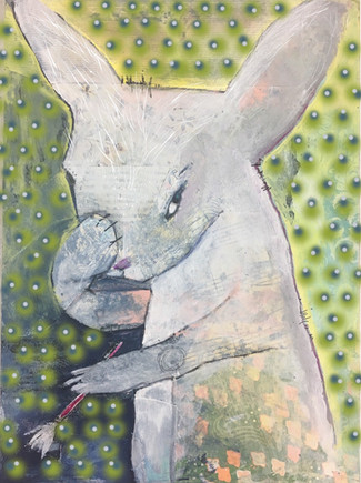"""""""The Artist as a Young Rabbit"""""""