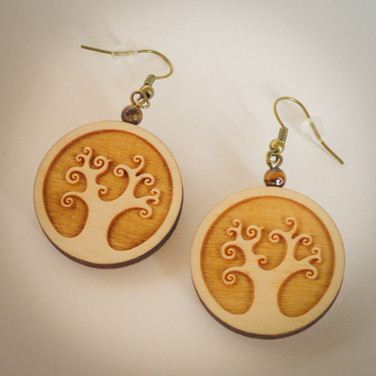 earring - tree of life
