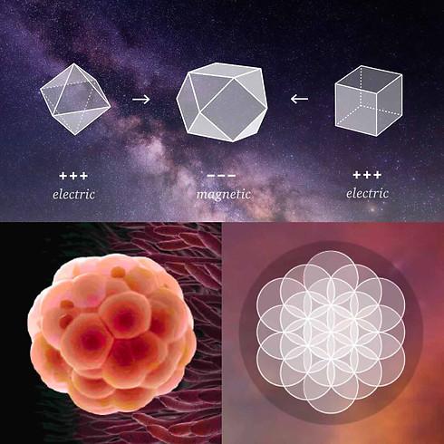 Breathe with Sacred Geometry  -  2 weeks Online Retreat