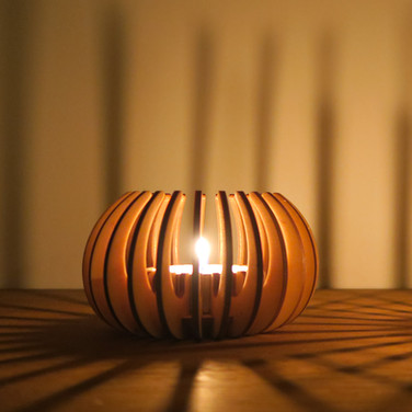 Candle Holder - Cocoon