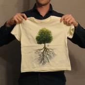 Kids T-shirt - Tree & roots