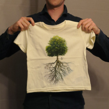 Kids T-shirt - Tree & roots
