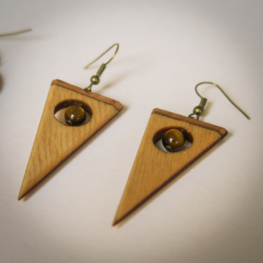 earring - triangle