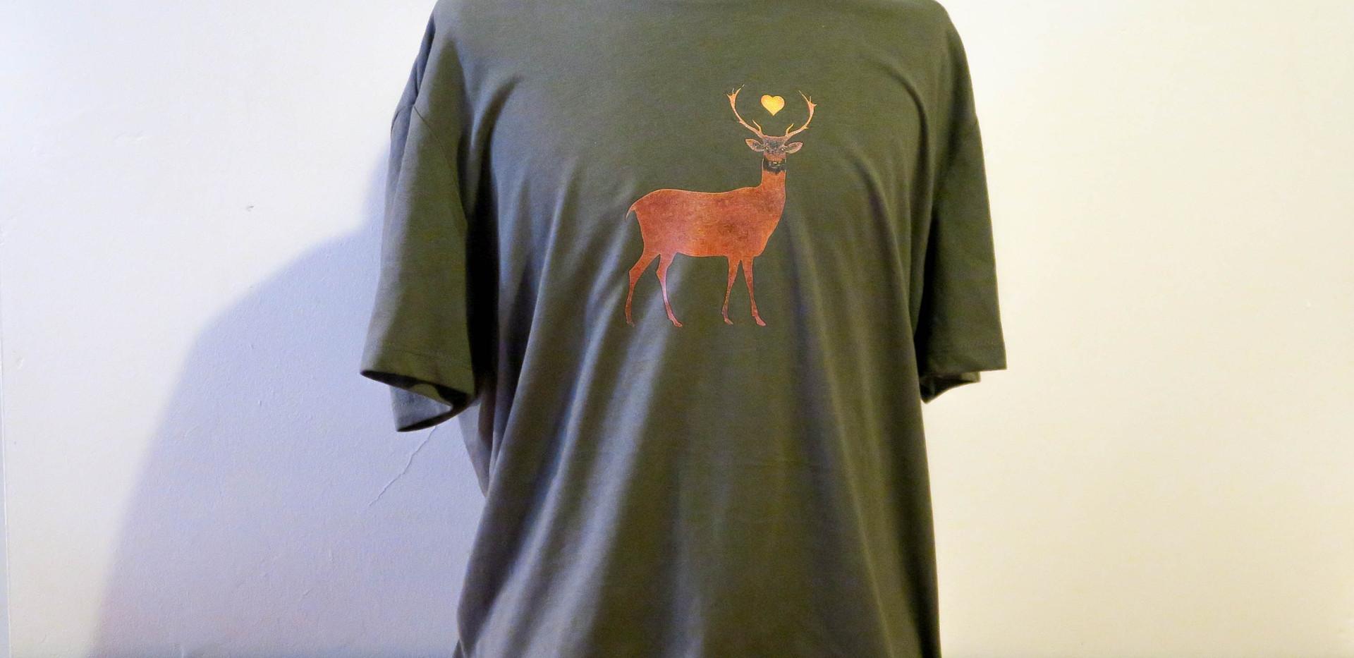 T-shirt Deer - model A - men