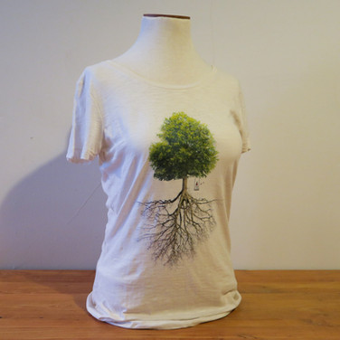 Women's T-shirt - Tree & roots