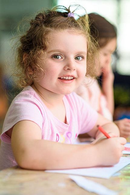 Pre School Child at World Tower Child Care
